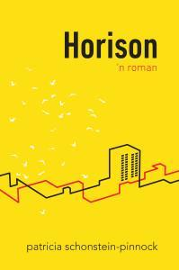 Front cover of the Afrikaans novel, Horison