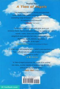 Back cover image of the novel, A Quilt of Dreams