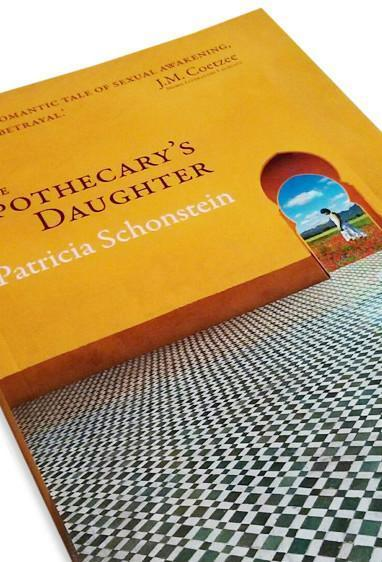 Front cover detail of the novel The Apothecary's Daughter