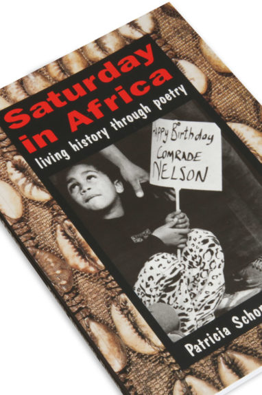 Cover detail of the childrens poetry book, Saturday in Africa