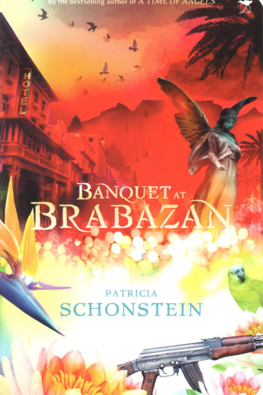 Front cover image of the novel, Banquet at Brabazan