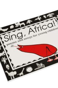 Cover detail of the childrens song book, Sing Africa